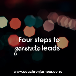 Four steps to generate leads