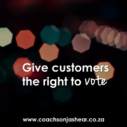 Give customers the right to vote